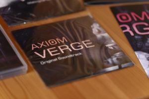 Le CD SoundTrack d'Axiom Verge
