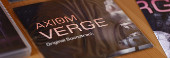 Le CD SoundTrack d'Axiom Verge