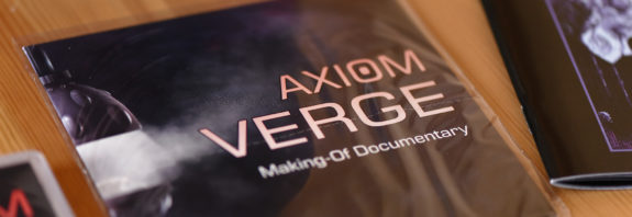 Le CD Making Of d'Axiom Verge