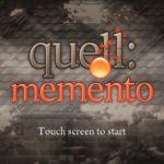 Quell Memento, le test sur PS Vita (2014)