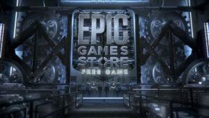 Logo EPIC free games
