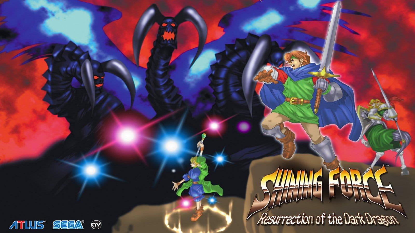Shining Force Resurection of Dark Dragon