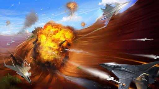 After Burner : Black Falcon, le test sur PSP