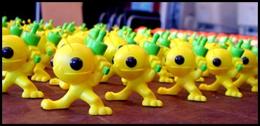 Alien Hominid, le test sur GBA