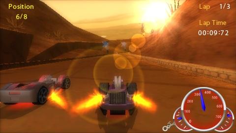 Hot Wheels : Ultimate Racing, le test sur PSP