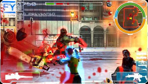 Infected, le test sur PSP