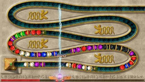 Luxor Pharaoh, le test sur PSP