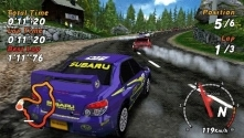 Sega Rally, le test PSP