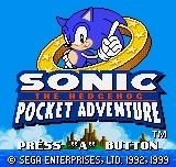Sonic Pocket Adventure, le test NGPC
