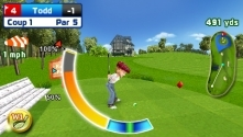 Let's Golf !, le test sur PSP