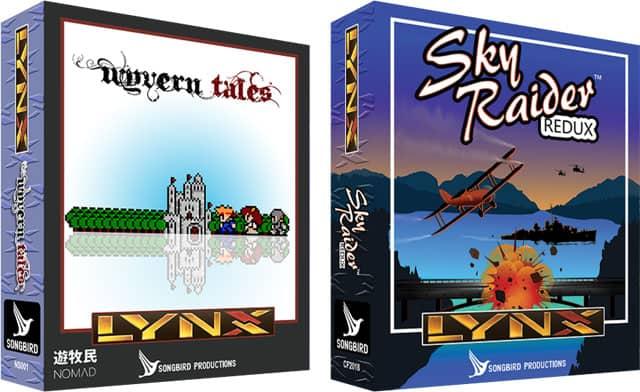 Wyvern Tales & Sky Raider Redux (Lynx)