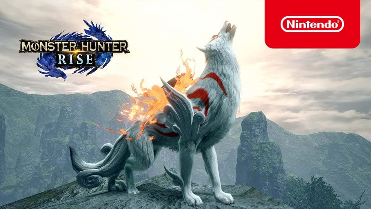 Monster Hunter Rise X Okami (Nintendo Switch)